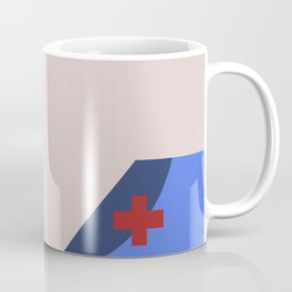Nurse Christine Chapel Minimalist Star Trek The Original Series Trektangles startrek USS Enterprise Coffee Mug
