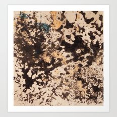 Splattered Space Art Print