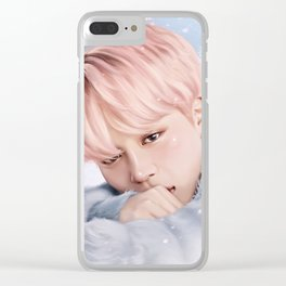 Winterday Jimin Clear iPhone Case