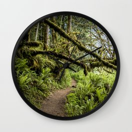 The old forest. Wall Clock