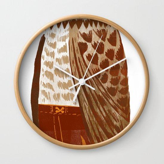 Hip Hop Owl Wall Clock