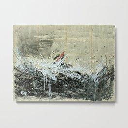 The conqueror waves .  Metal Print