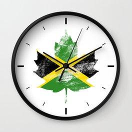 Jamaica/Canada Wall Clock