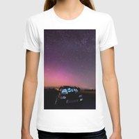 subaru T-shirts featuring Nocturnal Subaru by Race Jones