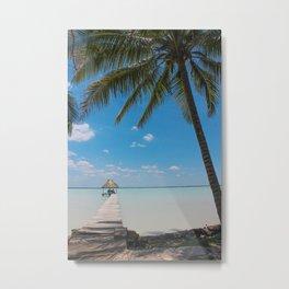 Belize Paradise Metal Print