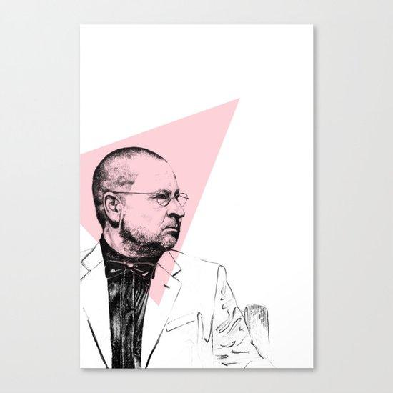 Lars Von Trier Canvas Print