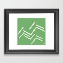 ballo verde Framed Art Print