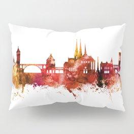 Luxembourg City Skyline Pillow Sham