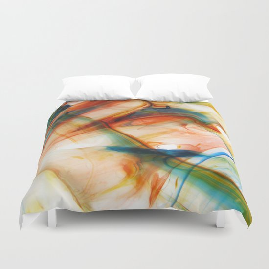 Glorious Siddhi Duvet Cover