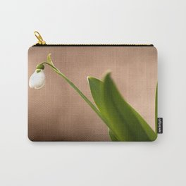 Spring Flower Snowdrop #decor #society6 Carry-All Pouch