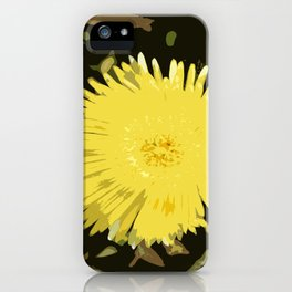 Iceplant Abstract iPhone Case