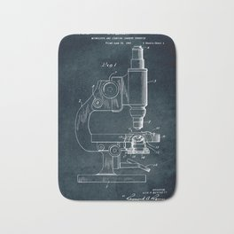 1943 - Microscope Bath Mat