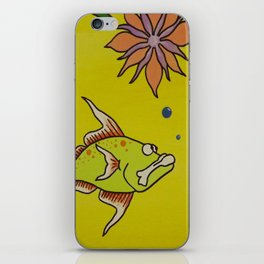 """""""Come Out & Play"""" Artwork iPhone Skin"""