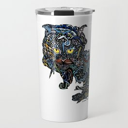 Dragon Cat (Color) Travel Mug