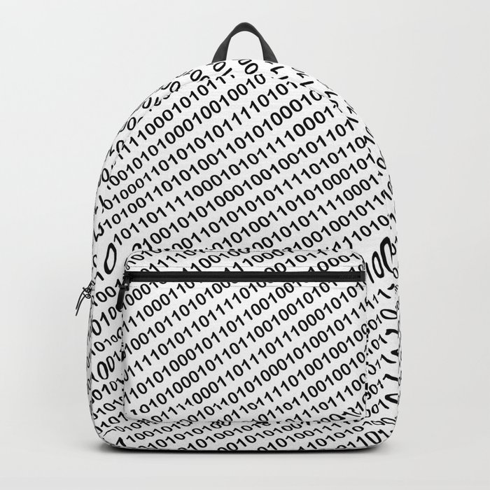 Binary Code - diagonal version Rucksack