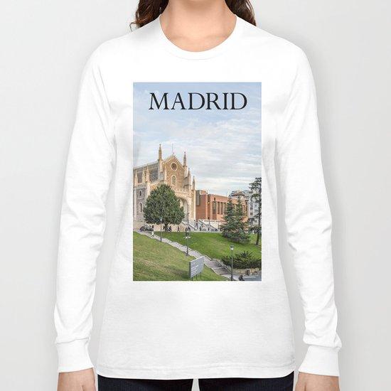 El Prado Museum. Madrid Long Sleeve T-shirt