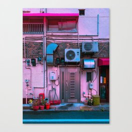 Pink Kineya Canvas Print