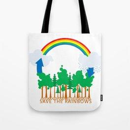 Save the Rainbows Tote Bag