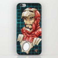 ironman iPhone & iPod Skins featuring Ironman by Fernando Cano Zapata
