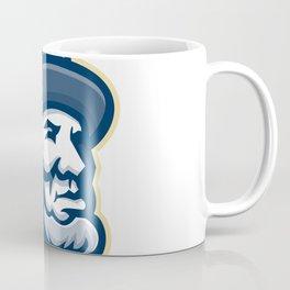Abraham Lincoln Head Mascot Coffee Mug