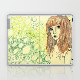 Creepy Girl Laptop & iPad Skin