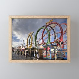 Hyde Park Coaster Framed Mini Art Print