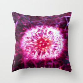 LIGHT FLUFF ( GIRLS ) WITH BORDER Throw Pillow