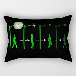 S.L.I.der Rectangular Pillow
