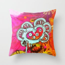 El corazon Throw Pillow