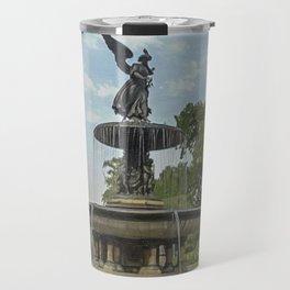 Bethesda Fountain Travel Mug