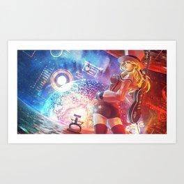 Vagenda Commission #1 (Monori Rogue) Art Print