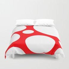 Super Mushroom Duvet Cover