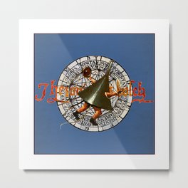 Bosch Funnel Man Metal Print