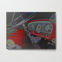 Busted at Midnight Metal Print