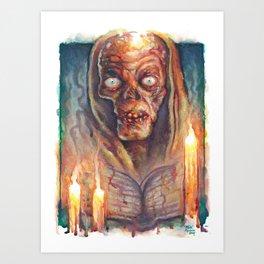 The Cryptkeeper Art Print