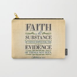 The Substance of Things Hoped for . . . Carry-All Pouch
