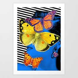 Just Picking Up The Bug Art Print
