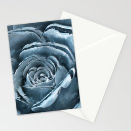 The blue rose Stationery Cards