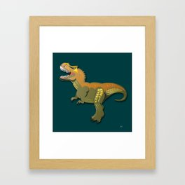 Dinosaur - 'A Fantastic Journey' Framed Art Print
