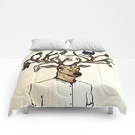 Evicted deer Comforters