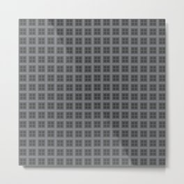 The Squares Are Stacked Against Us Metal Print