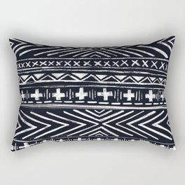 Mudcloth X and Cross Rectangular Pillow