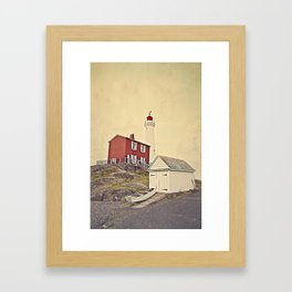 Fort Rodd Hill Framed Art Print