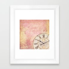 AS TIME GOES BY ... III Framed Art Print