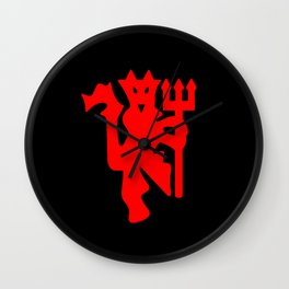The Red Devil Wall Clock