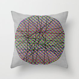 Spindles Throw Pillow