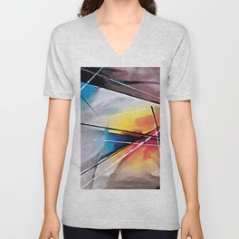 Abstract Art Britto - QB288 Unisex V-Neck