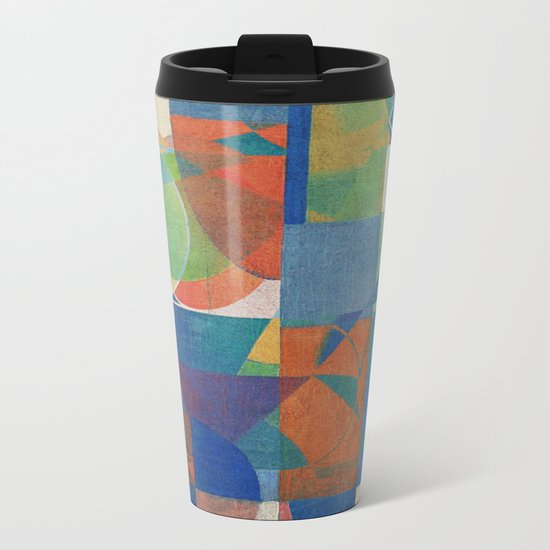 In Flexible Metal Travel Mug