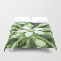 sisters Duvet Covers featuring Sisters by Loredana