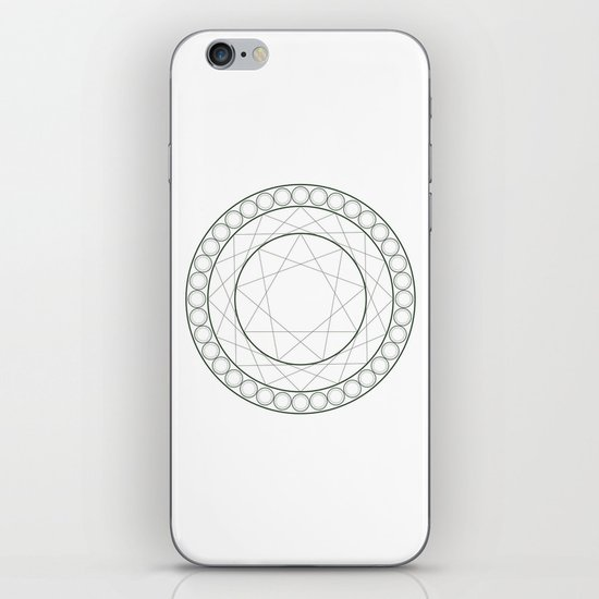 Anime Magic Circle 12 iPhone & iPod Skin